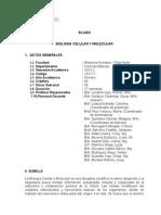 Sílabo de Biología Celular y Molecular - Medicina USMP Filial Norte