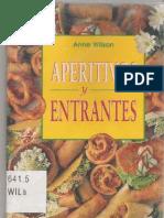 Wilson Anne - Aperitivos Y Entrantes