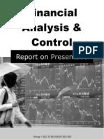 Financial Statement Analysis Control