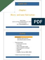 Microfabrication I MC