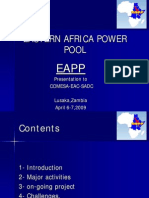 East Africa Power Pool Presentation