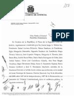 Sentencia Corte Suprema de la República Dominicana Contra Nacionalización Haitianos