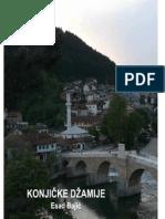 Konjičke džamije Esad Bajić
