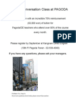 Korean Classes Pagoda Academy - Direct English