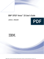 IBM SPSS Amos User's Guide