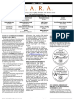 HARA August 2012 Newsletter