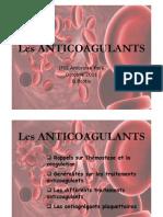 Anticoagulants 2011