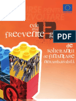 Cele Mai Frecvente 13 Greseli in Project Management