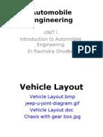 Vehicle Layout