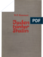 Kommoss, Rudolf - Juden Hinter Stalin (1938, 251 S., Scan-Text)