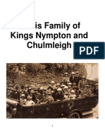 Harris Family of Kings Nympton, Chulmleigh and Agincourt