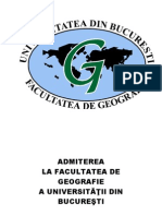 Teste Admitere 2012 Geografia Turismului