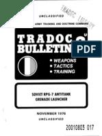 Rpg-7 TRADOC bulletin