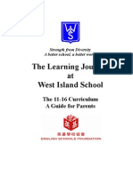 Learning Journey 2007-08