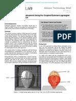 Simulation of Airbag Deployment Using the Coupled Eulerian-Lagrangian Method in Abaqus/Explicit 2011