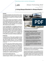 Full Vehicle Durability Using Abaqus/Standard to Abaqus/Explicit Co-simulation 2011