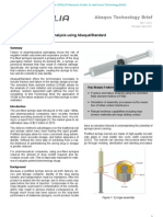 Pre-filled Syringe Failure Analysis using Abaqus/Standard 2011