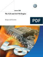 Self Study Book 360 the 3.2I and 3.6I FSI Engine