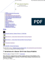 7 Variations of a Soccer Drill from Guus Hiddink