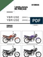 Catálogo de repuestos Yamaha YBR 125 (5HH)