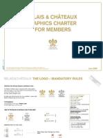 Relais et Chateaux Graphic Charter