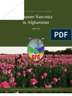 CFC Afghanistan Counter Narcotics Volume, August 2012