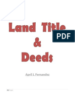 Land Title and Deeds Cases
