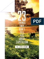 23 Things They Dont Tell You About Capitalism Pdf