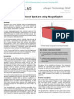 Installation and Extraction of Spudcans using Abaqus/Explicit 2010