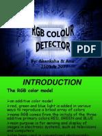 Rgb Detector Ppt Final