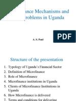 MFIs in Uganda