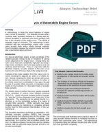 Sound Radiation Analysis of Automobile Engine Covers 2006