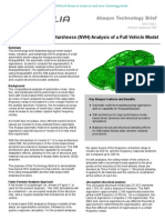 Noise, Vibration and Harshness (NVH) Analysis of a Full Vehicle Model 2007