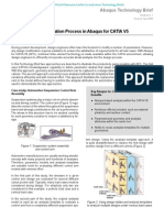 Iterative Design Evaluation Process in Abaqus for CATIA V5 2008