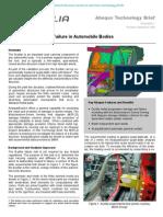 Prediction of B-Pillar Failure in Automobile Bodies 2008