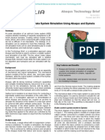 High Fidelity Anti-Lock Brake System Simulation Using Abaqus and Dymola 2010