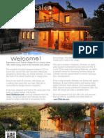 Luxury Villa Lale in Turkey Brochure