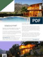 Luxury Villa Anni in Turkey Brochure
