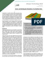 Construction, Rapid Drawdown, and Earthquake Simulation of an Earthen Dam 2007