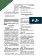 D.S. 012-2012-TR Aprueban Reglamento de Multas del MTPE