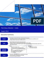 Market Research Report :Flat Glass Market in India 2012