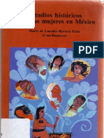 Estudios Historicos Sobre Las Mujeres en Mexico (Reducido)