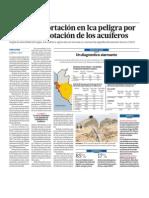Agroexportacion Ica en Peligro