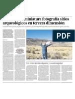 Arqueologia 3d en Peru