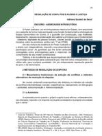 FORMAS DE RESOLUÇÃO DE CONFLITOS E ACESSO À JUSTIÇA Adriana_Senaxx