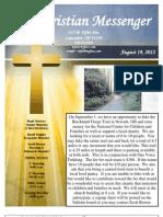 August 19 Newsletter