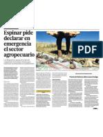 Espinar Cusco Problemas Agricultura