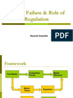 Market Failure & Role of Regulation (1)