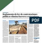 Inversion y Politica Peru