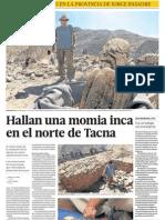 Momia Inca en Tacna